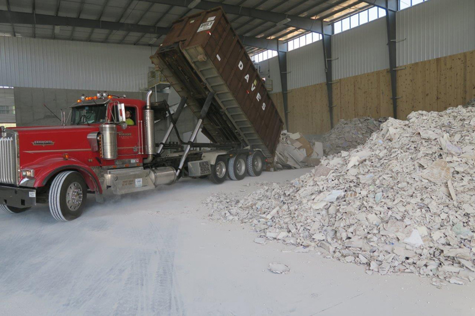Drywall Recycling for Contractors