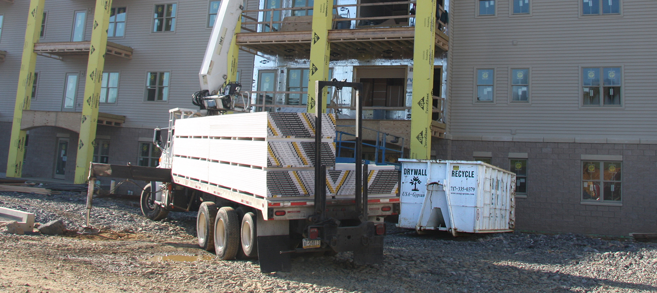 Gypsum Wallboard Recycling for Contractors