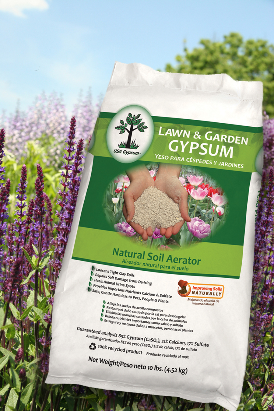 Lawn and Garden Gypsum - USA Gypsum