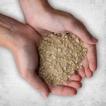 Pulverized Damp Organic Gypsum